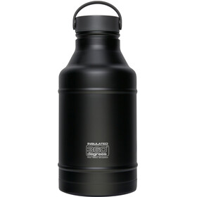 360° degrees Growler Drinkfles 1800ml zwart